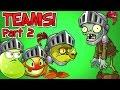 Download Plants vs. Zombies 2 KNIGHT ZOMBIE vs Team Plants PART 2 ✔ Video