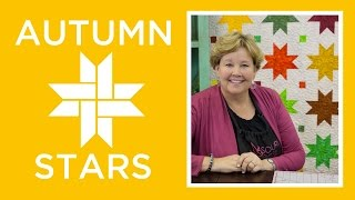 Download Make an Easy Autumn Sweet Stars Quilt with Jenny Doan of Missouri Star! (Video Tutorial) Video