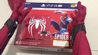 Download Spiderman Homecoming UNBOXING Limited edition Marvel's Spiderman PS4 PRO bundle Video