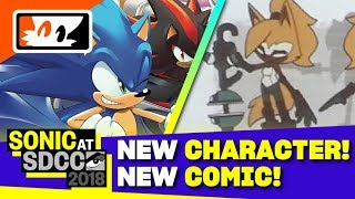 Download Whisper the Wolf Revealed! New Team Sonic Racing Comic Announced! - Sonic SDCC 2018 Panel Recap Video