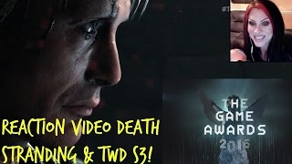 Download THE GAME AWARDS 2016 - WORLD PREMIER DEATH STRANDING & THE WALKING DEAD S3 TRAILER REACTIONS!! Video