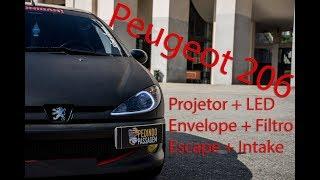 Download Peugeot 206 - Iluminação + Envelopamento (Pedindo Passagem) Video