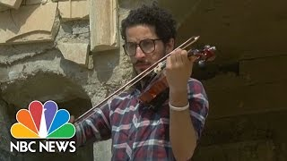 Download Iraqi Violinist Plays Concert In Defiance Of ISIS | NBC News Video