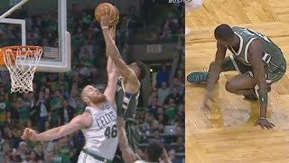 Download Giannis Antetokounmpo Alley Oop Poster 37 Points! Bucks vs Celtics 2017-18 Season Video