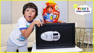 Download Ryan Hides All Of His Surprise Toys in a Secret Safe for Future Ryan!!! Video
