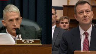 Download Rep. Trey Gowdy questions FBI's Peter Strzok in fierce grilling Video