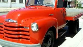 Download 1951 Chevrolet Dually Flatbed for sale Video
