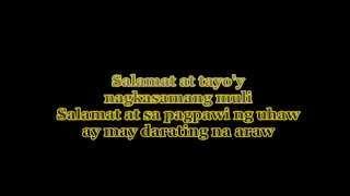 Download The Dawn - Salamat (LYRICS) Video