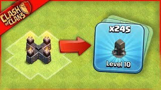 Download HE FARMED 245 WALLS? Clash of Clans ...HOW CAN THIS BE! Video