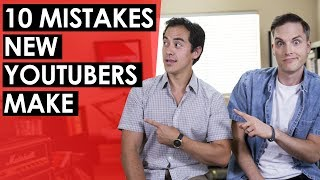 Download Advice for New YouTubers — 10 Mistakes New YouTubers Make Video