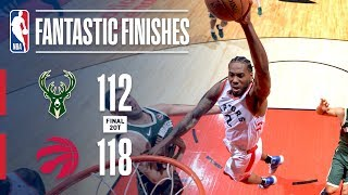 Download The Raptors & Bucks Need Two Overtimes to Settle Game 3 | May 19, 2019 Video