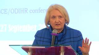 Download Address by CiO Special Representative on Gender at Human Dimension of Security in Ukraine conference Video