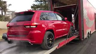 Download Unboxing: 2018 Jeep Grand Cherokee Trackhawk (exterior) Video