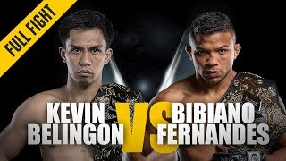 Download ONE: Full Fight   Kevin Belingon vs. Bibiano Fernandes   Undisputed Champion   November 2018 Video