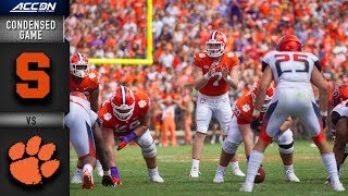 Download Syracuse vs. Clemson Condensed Game | 2018 ACC Football Video