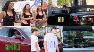 Download BBB Pop UP LaMelo Ball Rollin in A Porsche, Liangelo Ball a Ferrari & Lonzo Ball a Rolls Royce Video