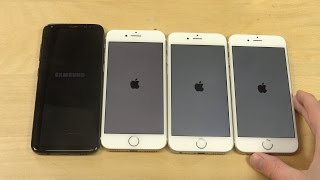 Download Samsung Galaxy S8 vs. iPhone 7 vs. iPhone 6S vs. iPhone 6 - Which Is Faster? Video
