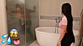 Download CAUGHT IN THE SHOWER PRANK WITH BIANNCA'S SISTER ALEXIS!! (GONE WRONG) Video