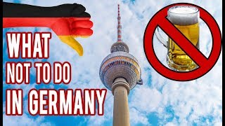 Download 10 Things NOT To Do in Germany and Berlin | GoOn Berlin Video