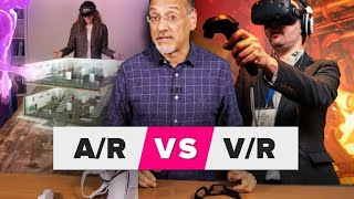 Download Augmented reality vs. virtual reality: AR and VR made clear Video