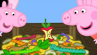 Download Peppa Pig Full Episodes | Grandpa's Compost Heap | Cartoons for Children Video