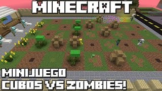Download Minecraft MINIJUEGO! CUBOS VS ZOMBIES! Video