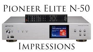 Download Pioneer Elite N-50 Network Audio Player Video