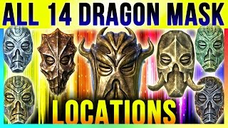 Download Skyrim All 14 Dragon Priest Mask Locations In Special Edition & DLC Dragonborn (TOP 10 Best Masks) Video