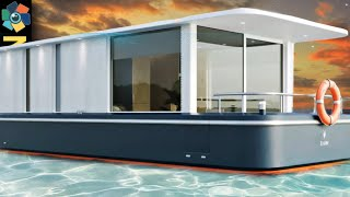 Download 10 INCREDIBLE HOUSEBOATS AND LUXURY FLOATING HOMES Video