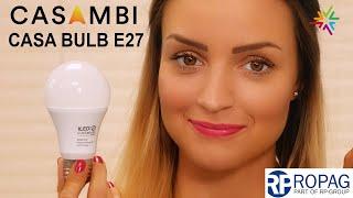 Download Die Casambi E27 CASA BULB von Ropag - LED-Birne mit Casambi Steuerung Video