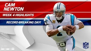 Download Cam Newton's Record-Breaking Game vs. New England | Panthers vs. Patriots | Wk 4 Player Highlights Video
