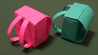 Download 「ランドセル」立体折り紙″Backpack″ origami Video