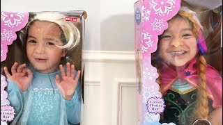 Download The twins dress up as Elsa and Anna for their birthday Video