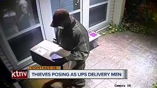 Download CONTACT 13: Package thieves dress up as UPS delivery men Video
