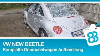 Download VW New Beetle - Komplette Gebrauchtwagen Aufbereitung - Den gebrauchten richtig waschen Video