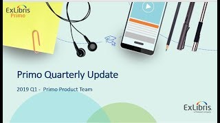 Download Primo Quarterly Update - January 2019 Video