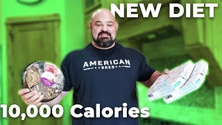 Download FULL DAY OF EATING ON THE NEW DIET! 10,000 CALORIES Video