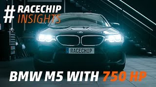 Download New BMW M5 F90 2018 tuned to 750 HP dyno + acceleration test // RaceChip Insights Video