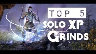 Download ESO - Leveling Guide 1-50: TOP 5 SOLO XP Grinds! Video