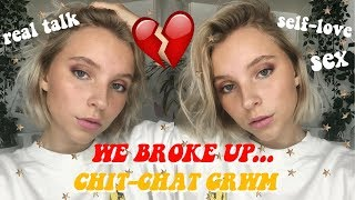 Download We broke up? chit-chat grwm | answering questions I've been avoiding! Video