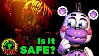 Secret Springtrap in FNAF 6 REVEALED! | Five Nights at Freddy's