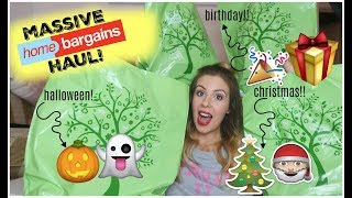 Download **MASSIVE HOME BARGAINS HAUL SPECIAL** - HALLOWEEN, BIRTHDAY & CHRISTMAS! | KERRY CONWAY Video