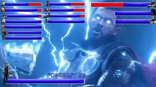 Download AVENGERS INFINITY WAR Final Battle ... With Healthbars | Battle in Wakanda: Wakanda Forever ? (HD) Video
