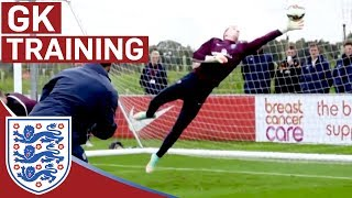 Download Joe Hart & goalie reactions training | Inside Training Video