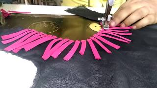 Download top front round neck design cutting and stitching in Hindi Video
