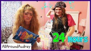 Download GERTIE And THERMA 24 HOURS In JORDAN's Room / AllAroundAudrey Video