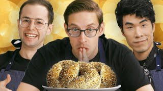 Download The Try Guys Cook Bagels Without A Recipe Video