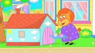 Download Lion Family Children's House Cartoon for Kids Video