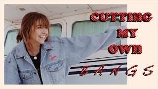 Download I CUT MY OWN BANGS / FRINGE Video