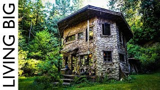 Download From Fame To Forest - Rockstar's Magical Woodland Cabin Video